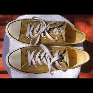 Unisex Green Converse Sneakers